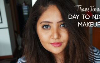 transitional day to night makeup
