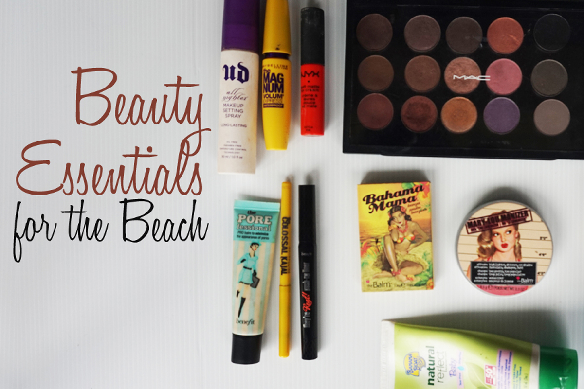 beauty essentials for the beach