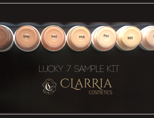 Lucky 7 Sample Kit by Clarria Cosmetic [Review]