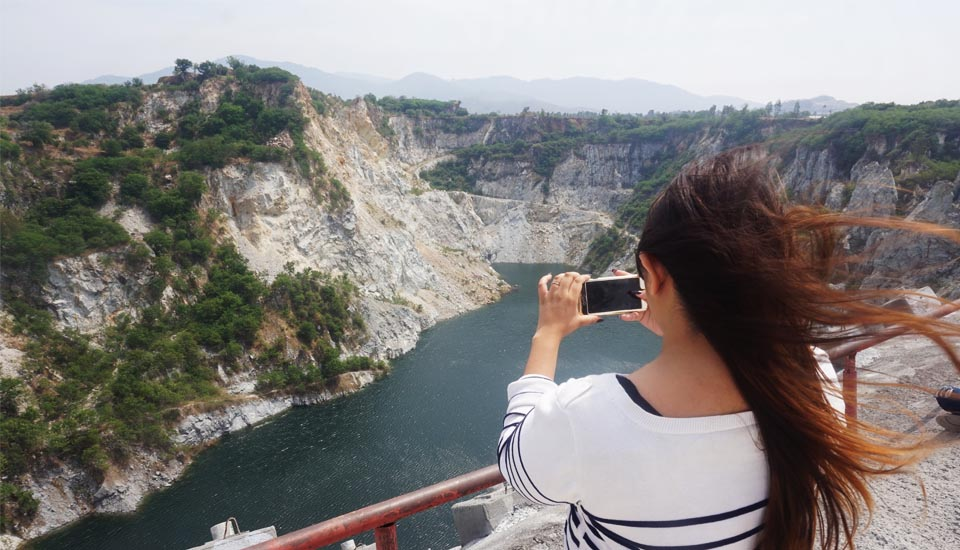 Day Trip to Chonburi Grand Canyon Snow Mountain Hell Garden and