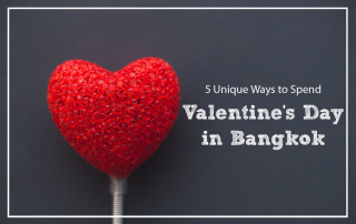Valentines day in Bangkok