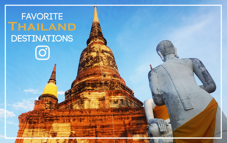 favorite Thailand destinations
