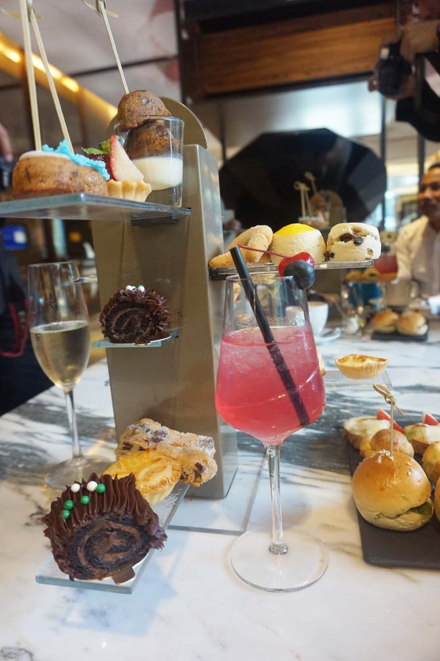 high tea at the hilton sukhumvit