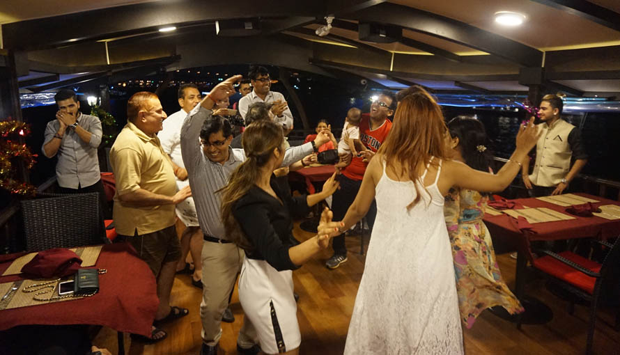 ARC indian dinner cruise