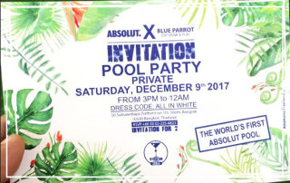 Absolut X Pool Party